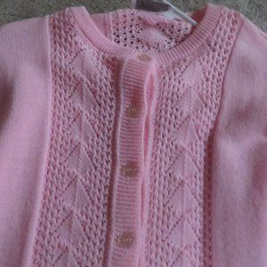 WOMEN'S SIZE MEDIUM PINK SWEATER